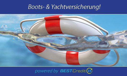 Boot versichern mit BestCredit24